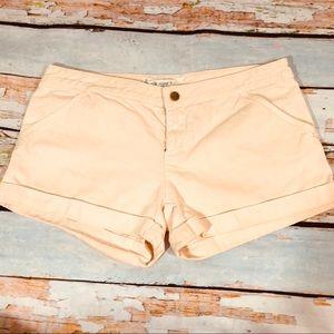 Diane VonFurstenburg | light pink shorts